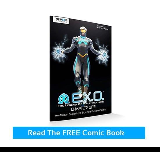 EXO Superhero Comics Read For FREE