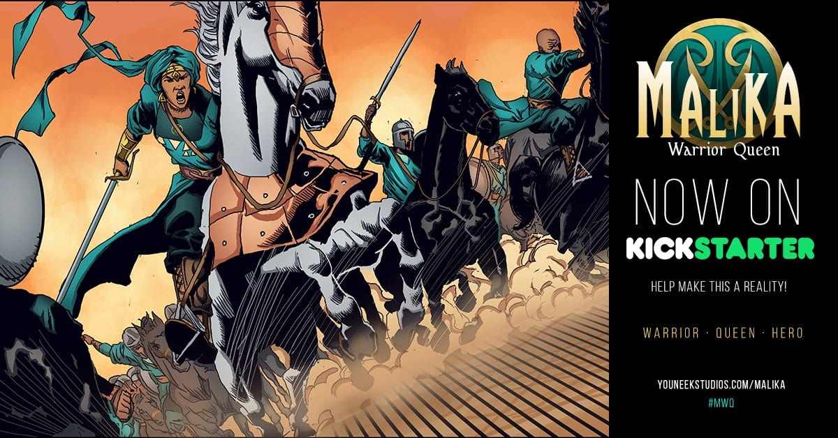 Malika Warrior Queen Kickstarter