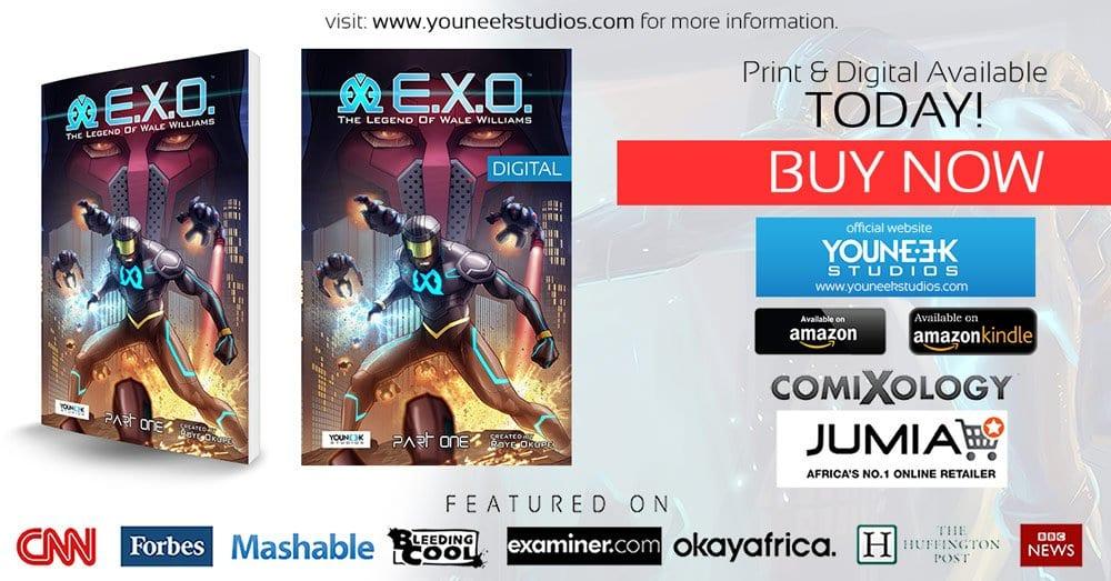 E.X.O. an African Superhero Graphic Novel