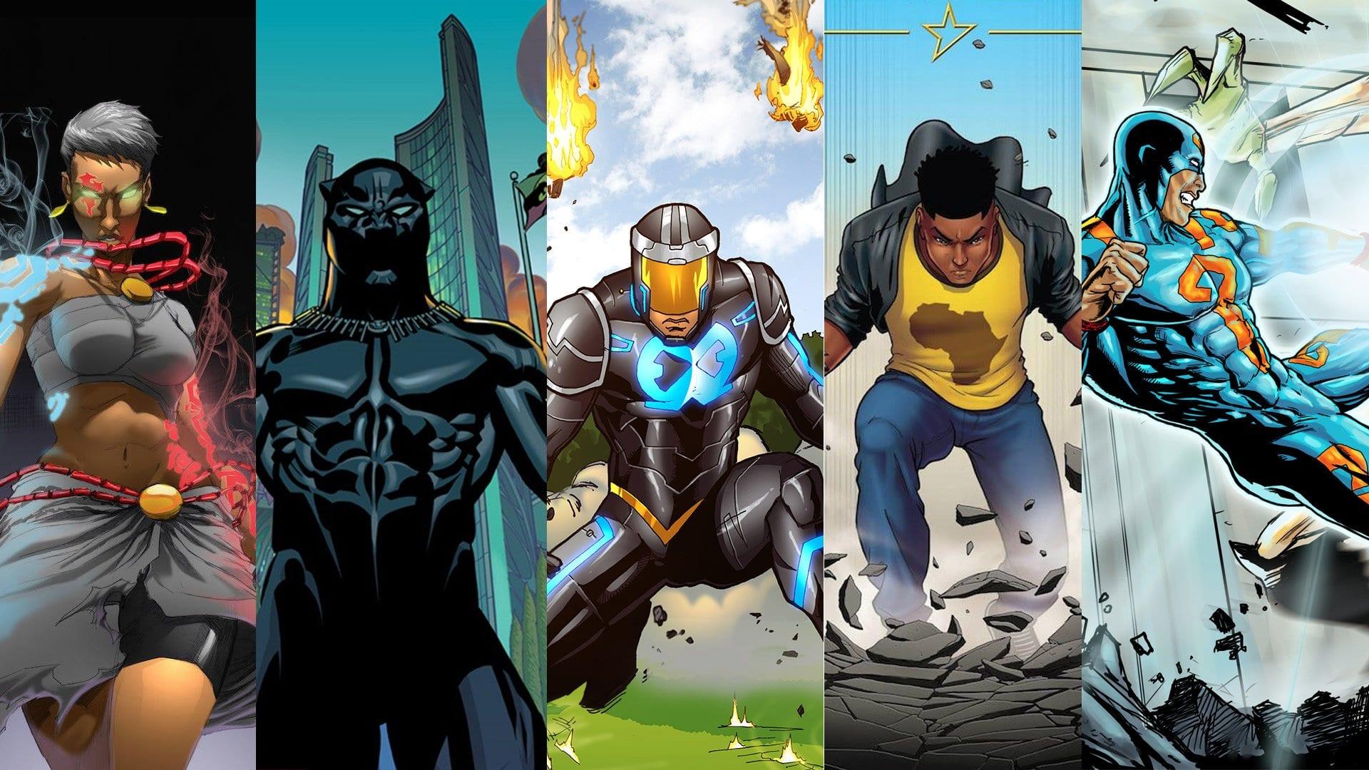 African Superhero Comics