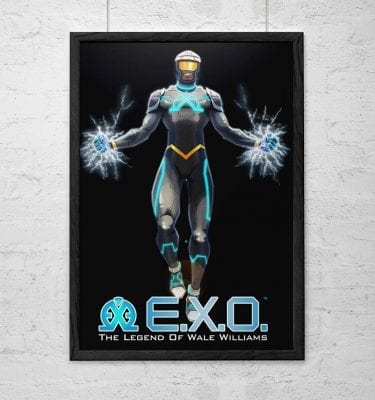 EXO Variant Cover Poster