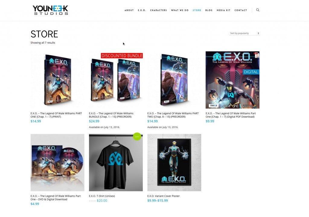 YouNeek Studios Store