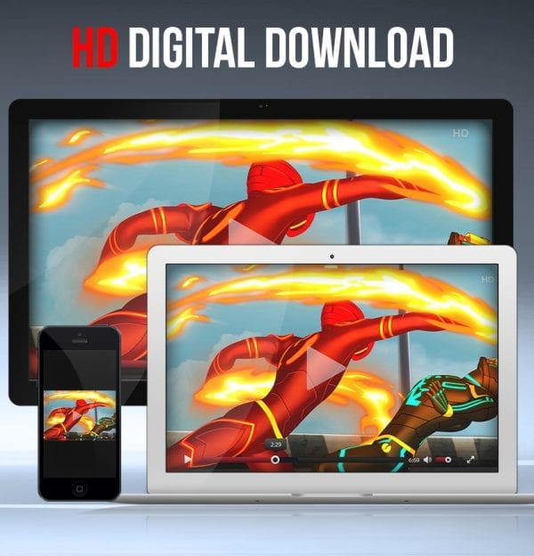 E.X.O. Animation - Digital Download