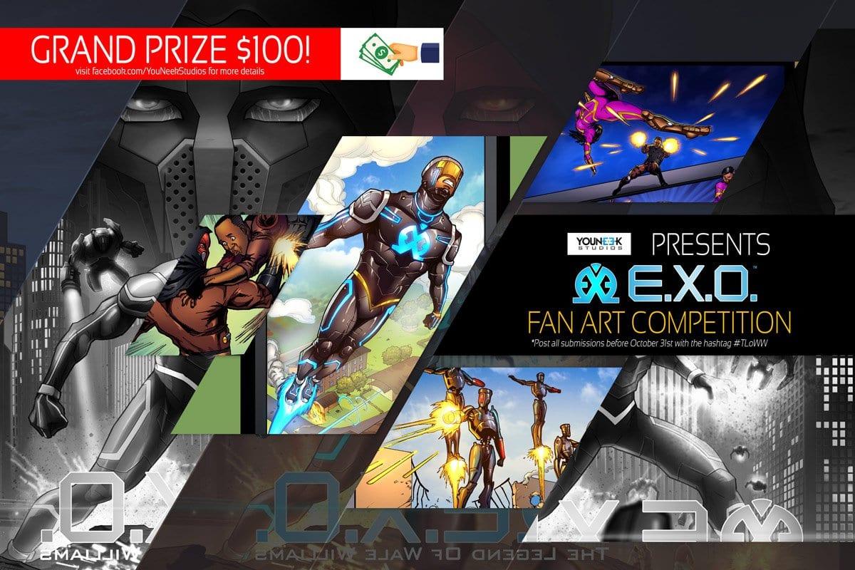 E.X.O. Fan Art Competition