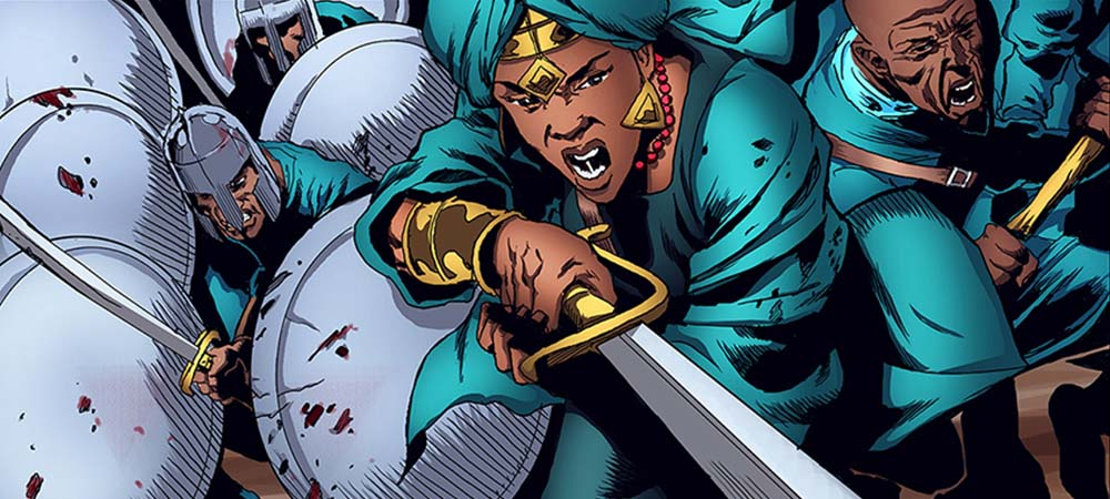 Malika Warrior Queen