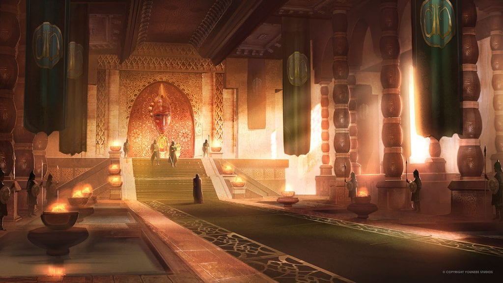 Malika Throne Room